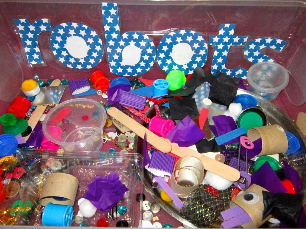 Robot sensory box