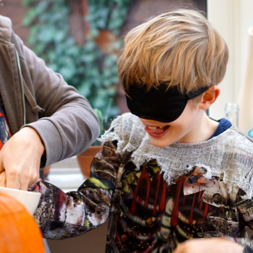 Simple Halloween Activities - Mystery Food