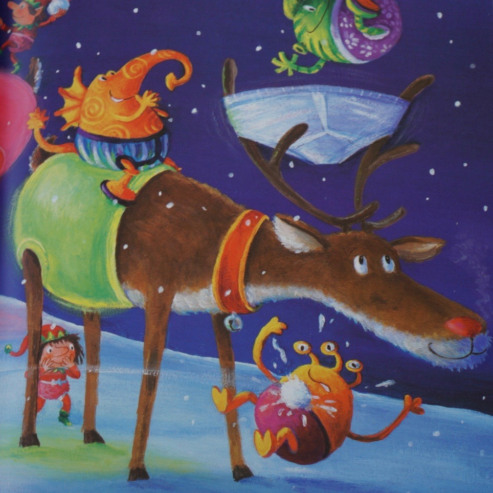 6 Christmas themed books all of the family will love