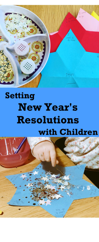 An easy way of setting New Years Resolutions as a family